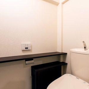 トイレのスライド収納
