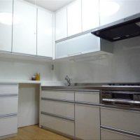 オーダー/機能的なL型キッチン