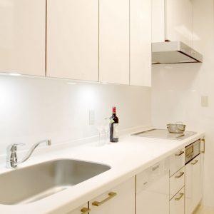 輸入の食洗機をビルトインしたオーダーキッチン