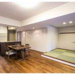 マンションリフォーム:素材を生かした上質な空間