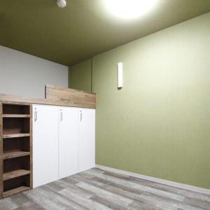 リノベーション:築年数の古い社員寮の大規模改修