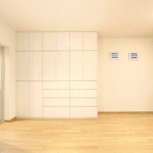 収納力のある引出し付き壁面収納